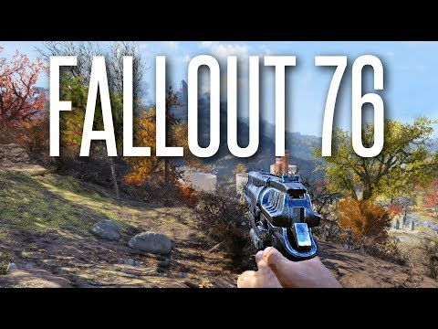 WE TRIED FALLOUT 76 ON PC - Fallout 76 Beta Gameplay (PVE and PVP)