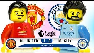 LEGO Manchester United 1 - 2 Manchester City - Premier League 2016 / 2017