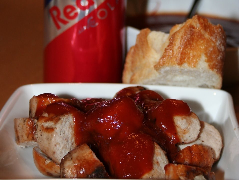 currywurst sauce mit ketchup