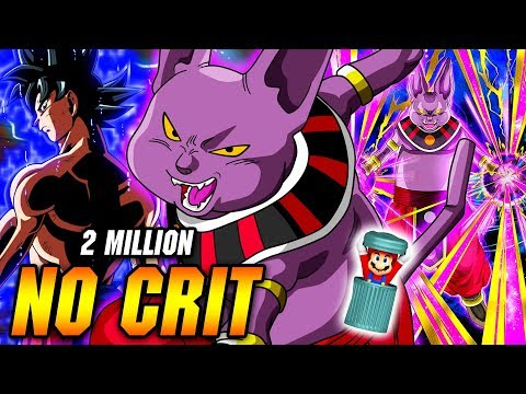 HYPE 2 MILLION NO CRIT! PHY CHAMPA THE MOST OVERPOWERED UNIT EVER! Dragon Ball Z Dokkan Battle