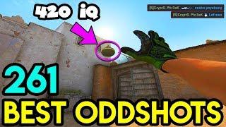 420 IQ NADES ! - CS:GO BEST ODDSHOTS #261