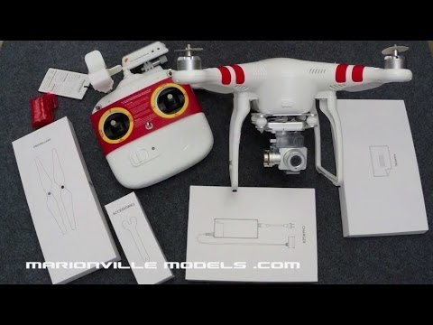 Unboxing & Setup of DJI Phantom 2 Vision Plus Quadcopter w/HD Camera for IPhone FPV, 3-axis gimbal