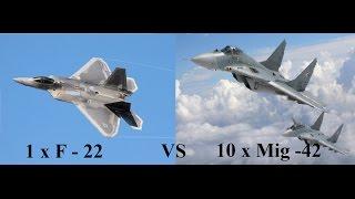 Jetfighter V : Homeland Protector / Türkçe Jet Oyunu / 1 vs 10