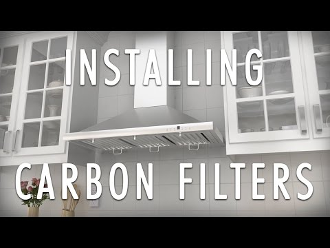 How to install Charcoal Carbon Filters - Converting to ductless with a ZLINE Range Hood