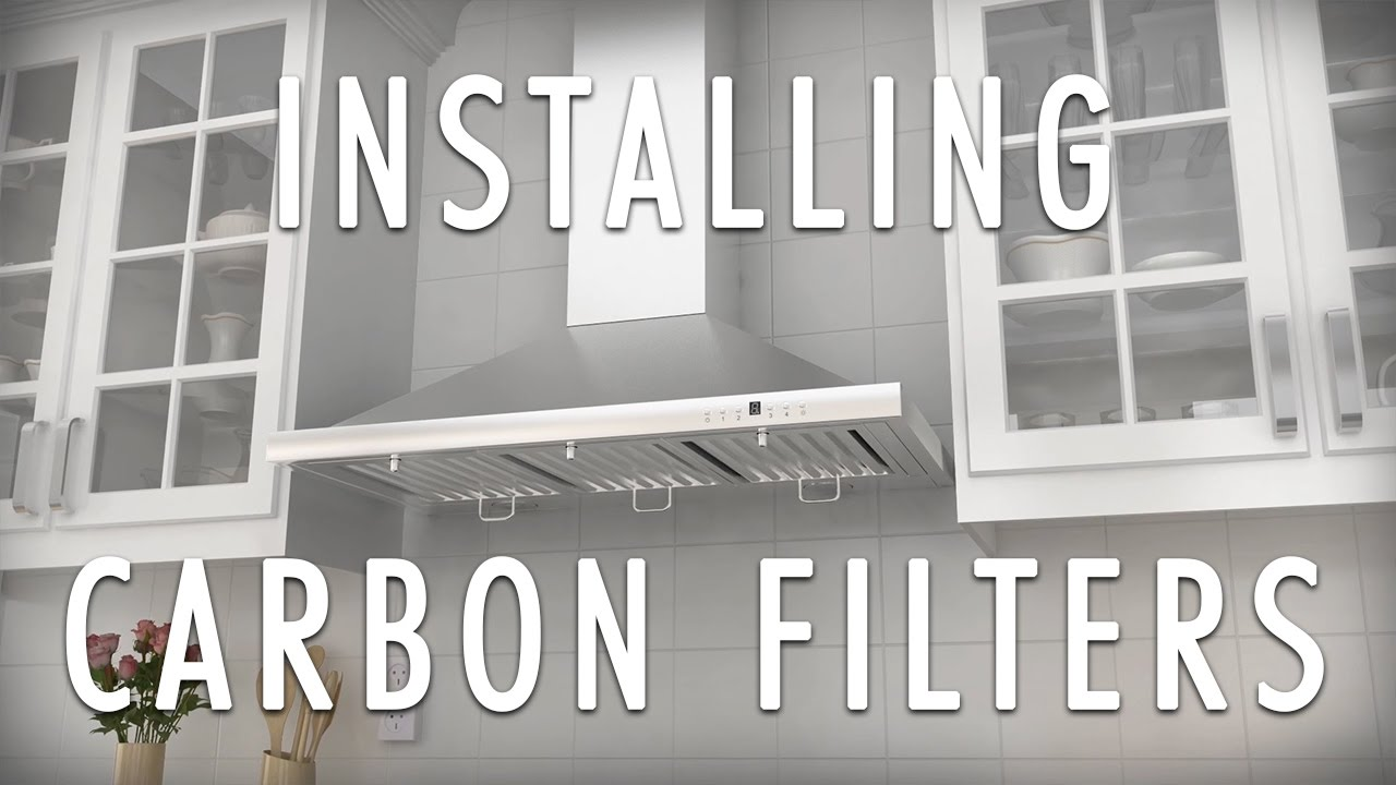How To Install Charcoal Carbon Filters Converting Ductless With A Zline Range Hood
