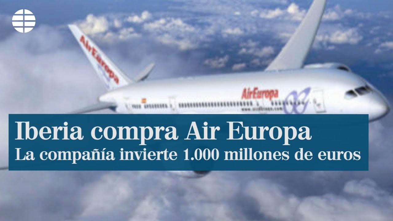 Así será el nuevo grupo IAG tras la compra de Air Europa thumbnail