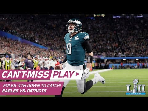 Nick Foles Catches TD Pass on INSANE 4th Down Trick Play! | Can