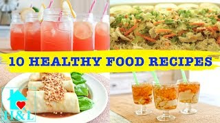 10 healthy food recipes (part 2) || health and lifestyle