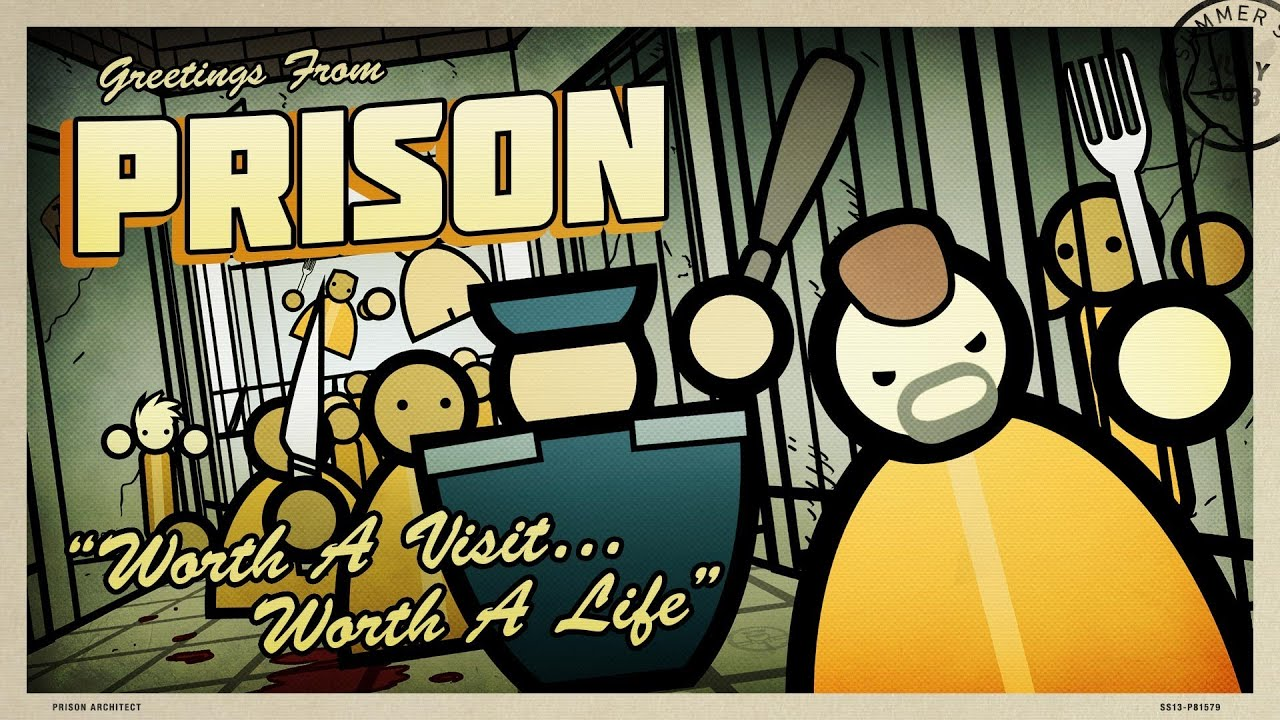 Canadagoose causes a riot in prison architect alpha 19 for Jail architect