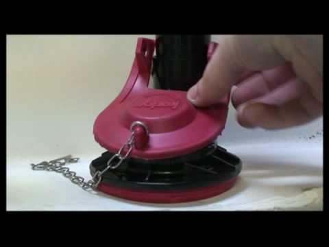 korky adjustable toilet flapper. Korky  Toilet Flapper Installation YouTube