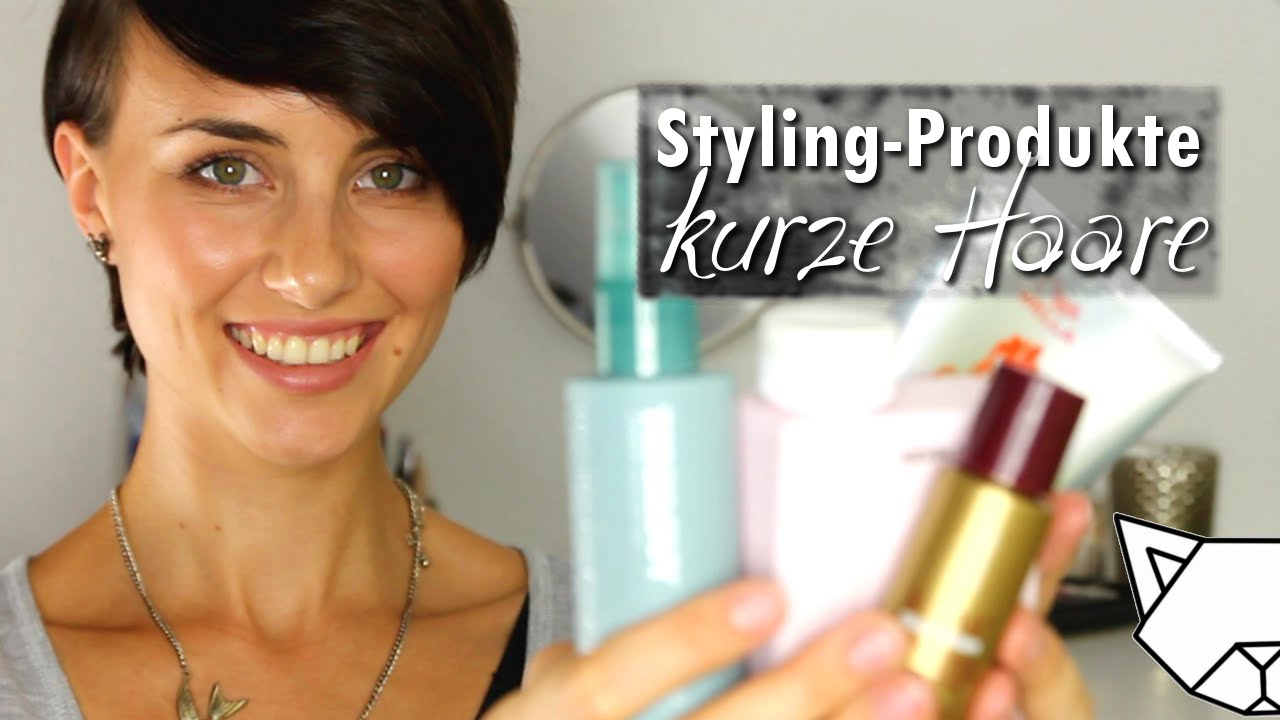 Top 10 Styling Produkte Pixie Kurze Haare