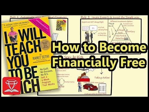 BECOME FINANCIALLY INDEPENDENT | I WILL TEACH YOU TO BE RICH (ANIMATED BOOK SUMMARY)