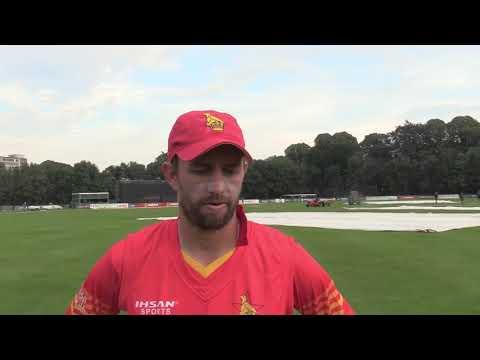 Craig Ervine | Post Match Intervie  | 1st ODI