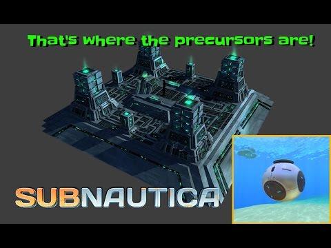 THAT'S where the Precursors are! - New precursor cache & more! | Subnautica News #44