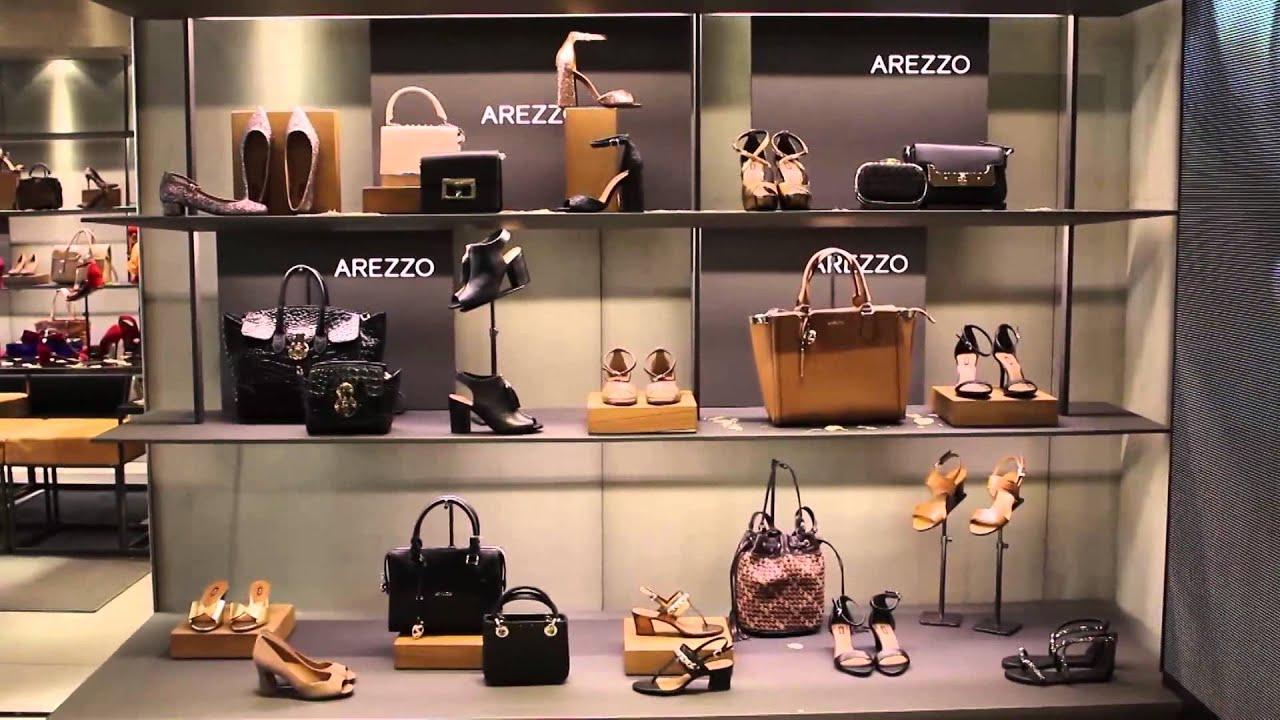 Lançamento AREZZO Shopping Costa Dourada Coleç u00e3o Outono Inverno 2015 YouTube -> Decoração De Outono Para Lojas
