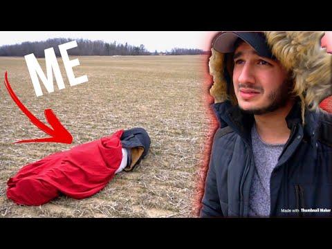 SLEPT IN AN EMPTY FIELD **I'm homeless**