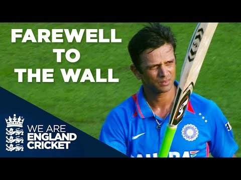 Farewell To The Wall: Rahul Dravid's Final ODI Appearance | England v India 2011 - Highlights