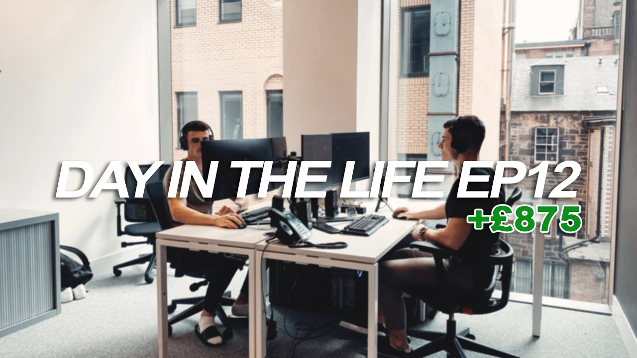 DAY IN THE LIFE of a Forex Trader EP12