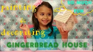 Painting & Decorating : Gingerbread House for Christmas!