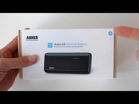 Anker Astro E4 2nd Gen 13000Mah Battery Unboxing And Overview