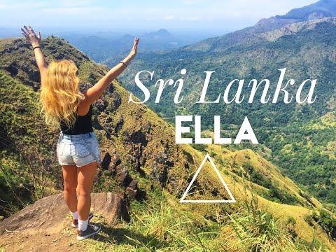 Ella, Sri Lanka: Adam's Peak Hike & Waterfalls