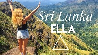 Ella, Sri Lanka: Adam's Peak Hike & Waterfalls