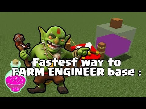 Clash of Clans | Fastest way to farming engineer base | Tips in Hindi