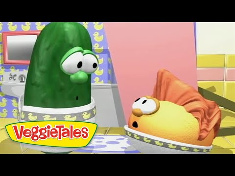 Veggie Tales | Where Is My Hairbrush? | Veggie Tales Silly Songs With Larry