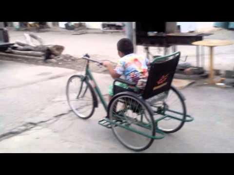 ขาย จักรยานสามล้อมือหมุน สำหรับผุ้ป่วย ผู้พิการ คนชรา คลิป 2