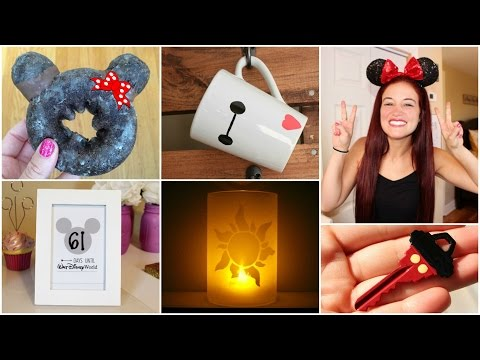 CHEAP AND EASY DISNEY DIY CRAFT IDEAS #1 | PINTEREST INSPIRED
