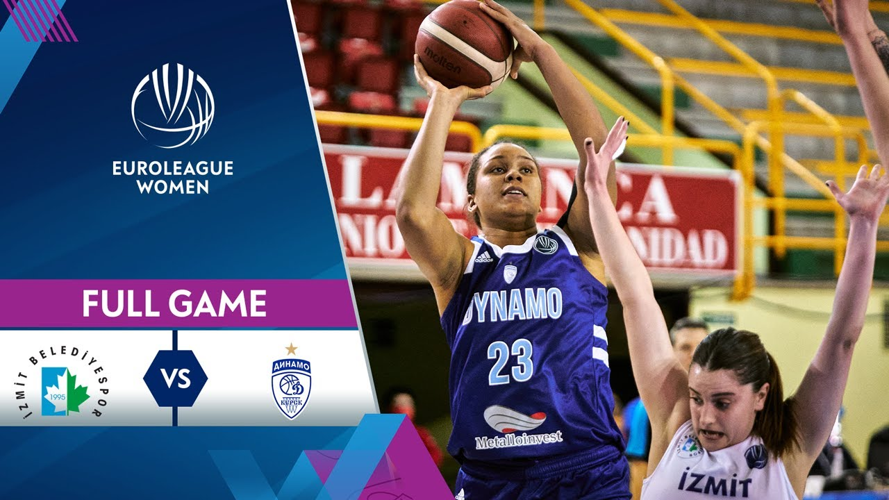 Izmit Belediyespor v Dynamo Kursk | Full Game - EuroLeague Women 2020
