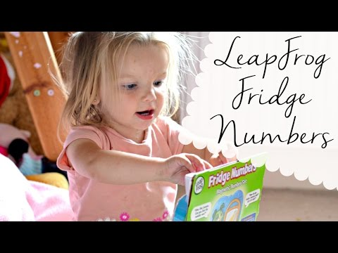 Playing With The LeapFrog Fridge Numbers Magnetic Set | Review