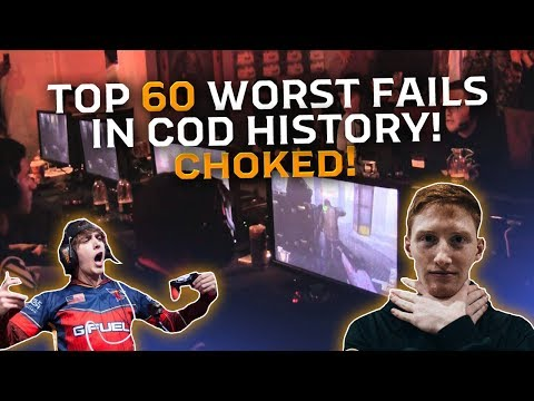 Top 60 WORST FAILS In Call Of Duty History!