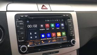 Video Car Multimedia Android for VW, Passat CC, Golf download MP3, 3GP, MP4, WEBM, AVI, FLV Agustus 2018