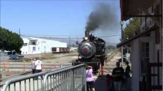 Hi Def- Fillmore and Western Labor Day Steam Spectacular- Smoke, Steam, Runbys and more!
