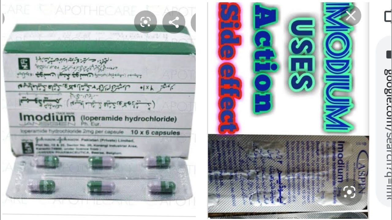 Imodium Capsule/How to use Imodium Capsul And Information ...
