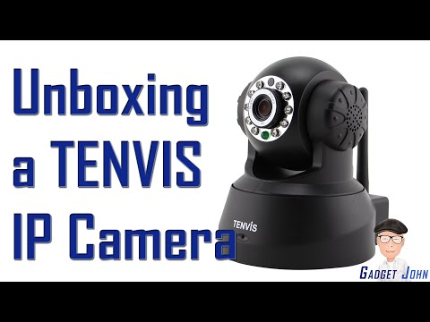 Unboxing & Setup of Tenvis JPT3815W IP Camera