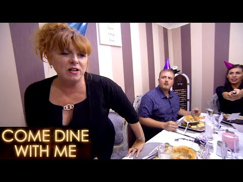 Karen Gets Upset & Walks Out | Come Dine With Me