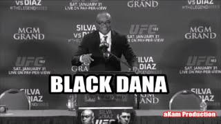 Anderson Silva as Black Dana Selling Wolf Tickets at UFC 183 Post Fight Press Conference