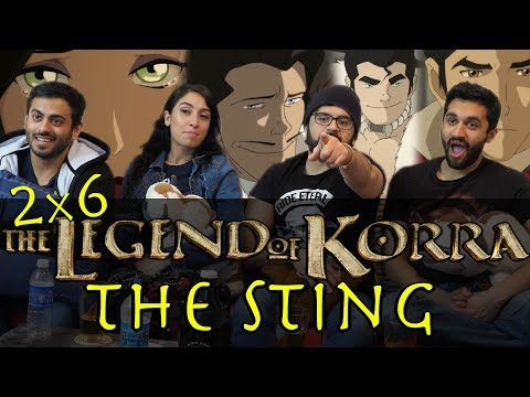 The Legend of Korra - 2x6 The Sting - Group Reaction