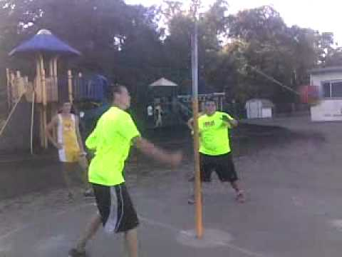 Professional tetherball league