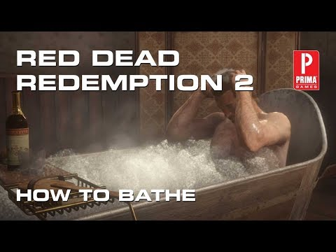 How to Bathe in Red Dead Redemption 2