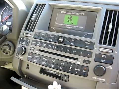 How to Remove Bose Amplifier from Infiniti FX35 2004 for