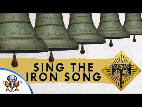 Destiny Rise of Iron - Iron Temple Bell Secret - Sing the Iron Song Theme Trophy & Achievement