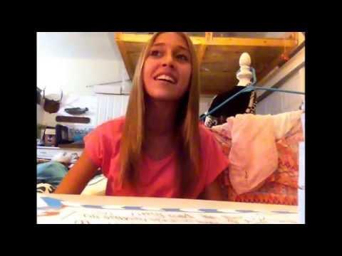 Gracie Snyder ❤️ singing Jesus take the wheel