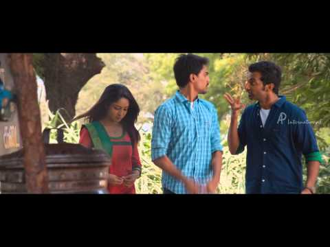 Moone Moonu Varthai Movie  s  Arjun meets Aditi at her village  Venkatesh
