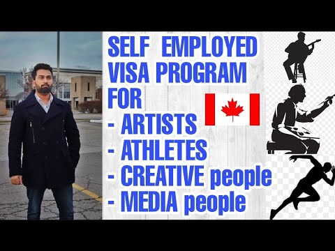 How can artists, musicians and athletes come to Canada - Self Employed Immigration