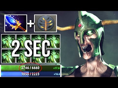 2s Decay +200 STR Scepter Undying Cancer Gameplay by SingSing Trolling Invoker😄 7.06 Dota 2