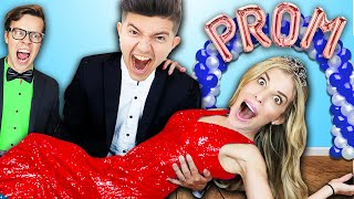 Preston Crashed our Prom inside our HOUSE!