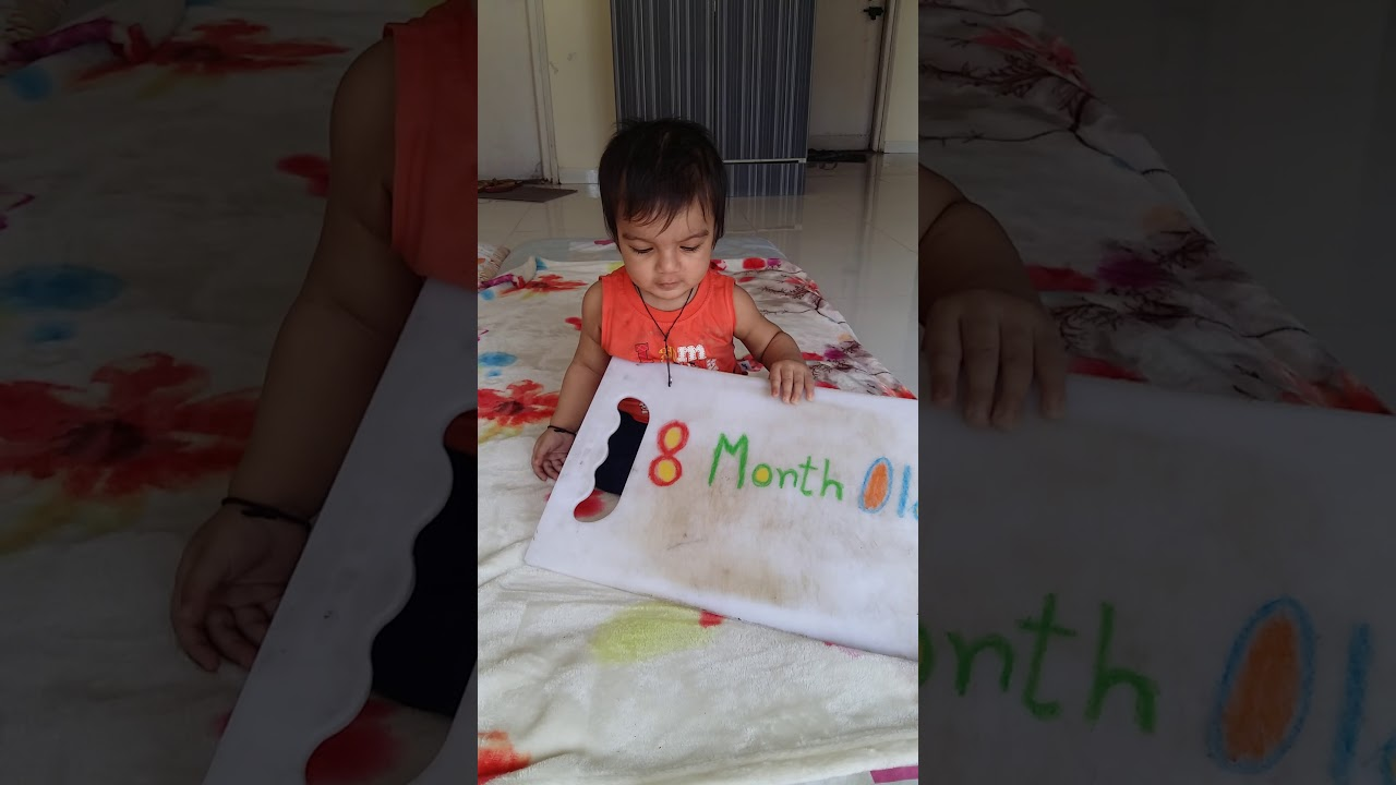 8month old baby photoshoot ideas monthly bday celebration
